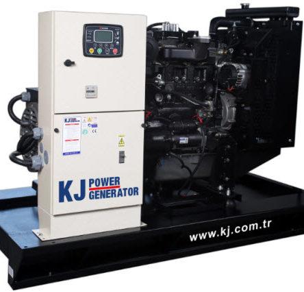 Generator trifazic diesel 88 KVA, fara carcasa, motor Perkins