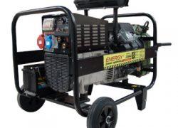 Generator sudura trifazat 10 kVA, Energy 300 WTE, motor Subaru, benzina, starter electric