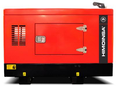 Generator silentios Himoinsa HYW8T5 cu carcasa